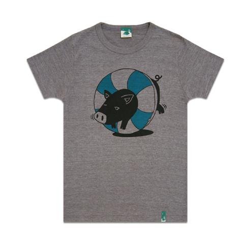 島豚大人Tシャツ
