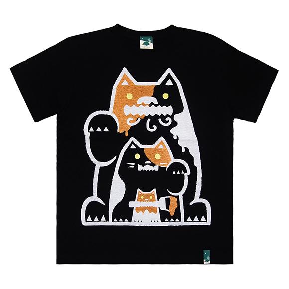三毛猫シーサー/ブラック
