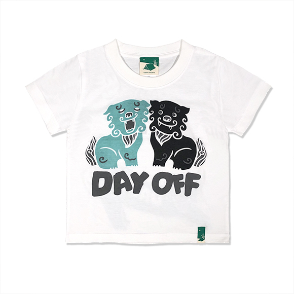DAY OFFシーサー KIDS/ホワイト