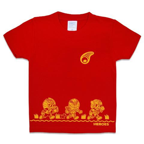 T-SHIRT-YA.COM キッズ 琉神マブヤー キッズ RUN/Tシャツ