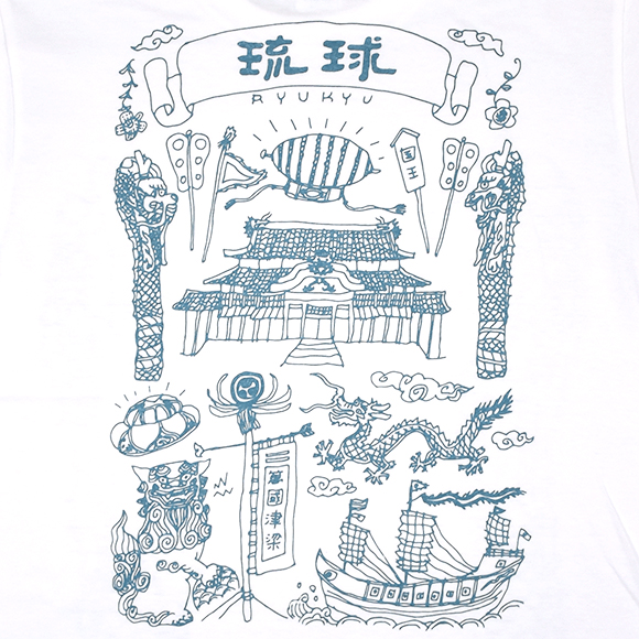 CAMP RYUKYU KINGDOM(キングダム) / ホワイト