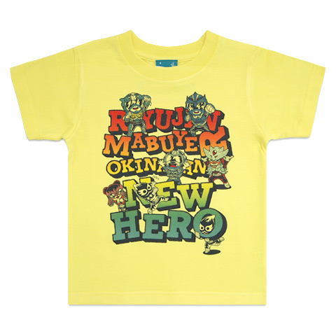 T-SHIRT-YA.COM キッズ 琉神マブヤー NEW HERO 2/Tシャツ