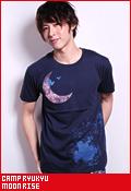 CAMP RYUKYU MOON RISE/Tシャツ