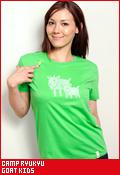 CAMP RYUKYU GOAT KIDS(ゴートキッズ)/Tシャツ