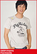 CAMP RYUKYU PIG RIDING/Tシャツ