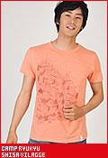 CAMP RYUKYU シーサーヴィレッジ/Tシャツ