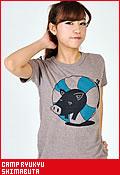 CAMP RYUKYU 島豚(しまぶた)大人/Tシャツ
