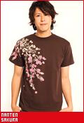南天 桜/Tシャツ