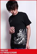 南天 ゲゲゲの鬼太郎 鬼太郎シーサー/Tシャツ