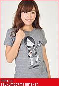 南天 ゲゲゲの鬼太郎 付喪神三線(つくもがみさんしん)/Tシャツ