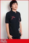 南天 彩紅(あやべに)/ポロシャツ