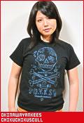 沖縄ヤンキース チクチクスカル/Tシャツ