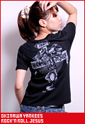 沖縄ヤンキース ROCK'N ROLL JESUS/Tシャツ