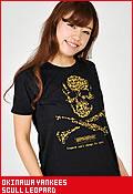 沖縄ヤンキース スカルレオパード/Tシャツ